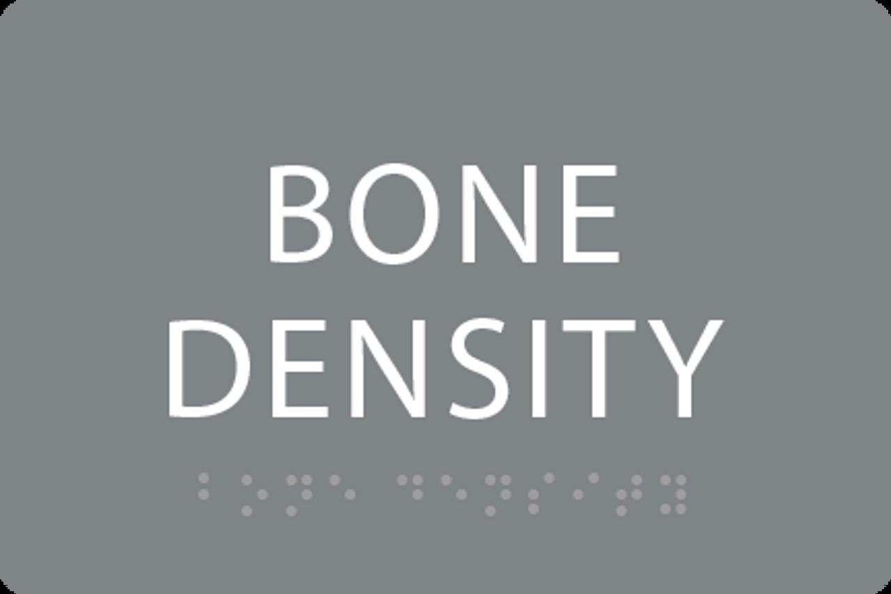 ADA Bone Density Sign