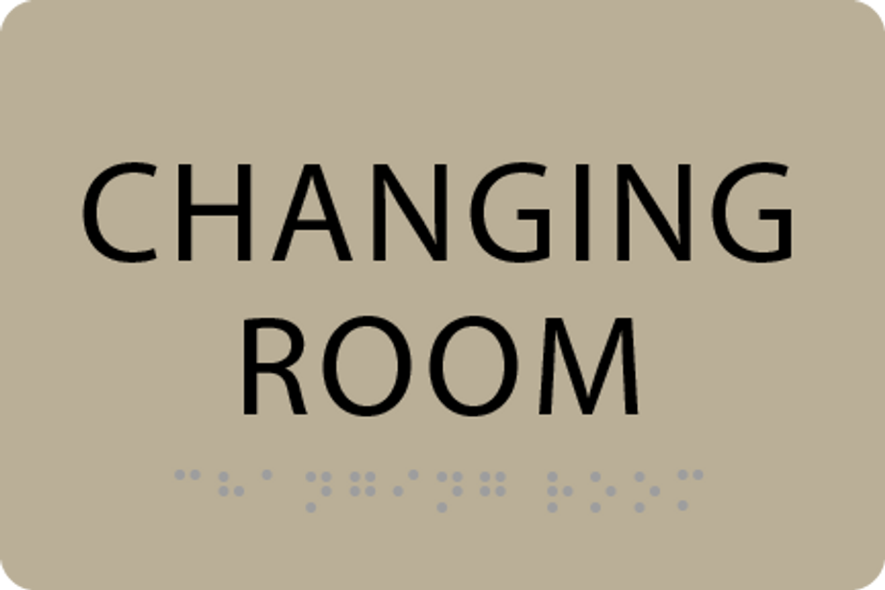 ADA Changing Room Sign