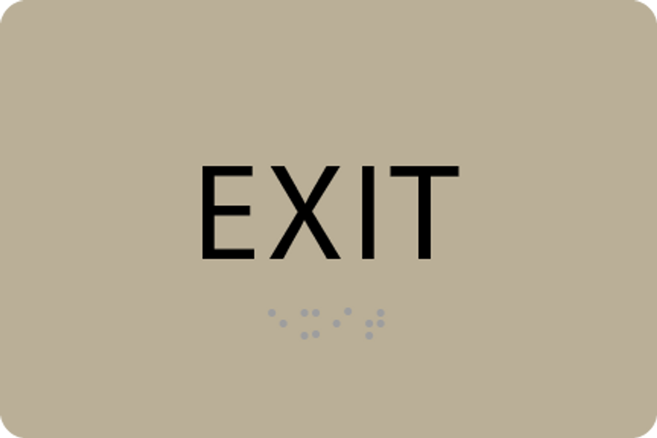ADA Exit Sign - PSG
