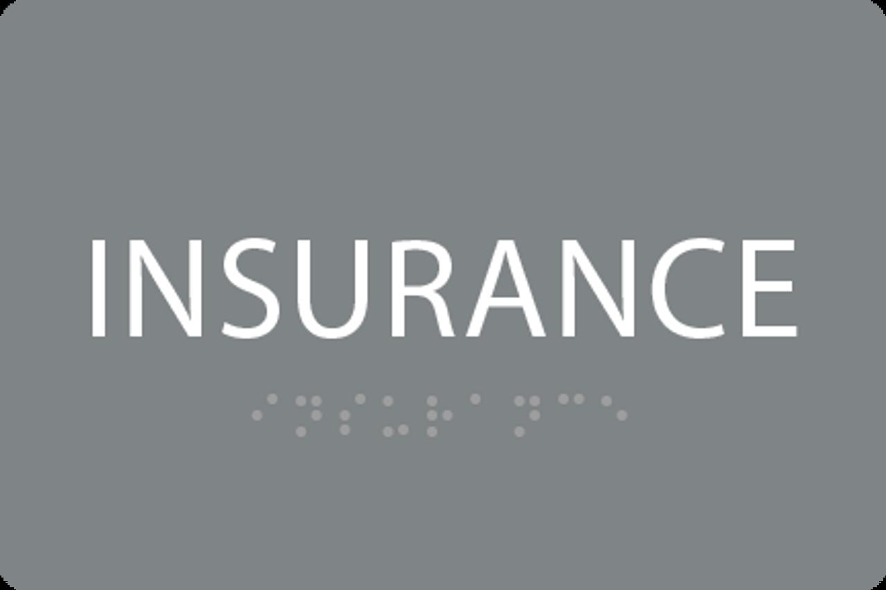 ADA Insurance Sign