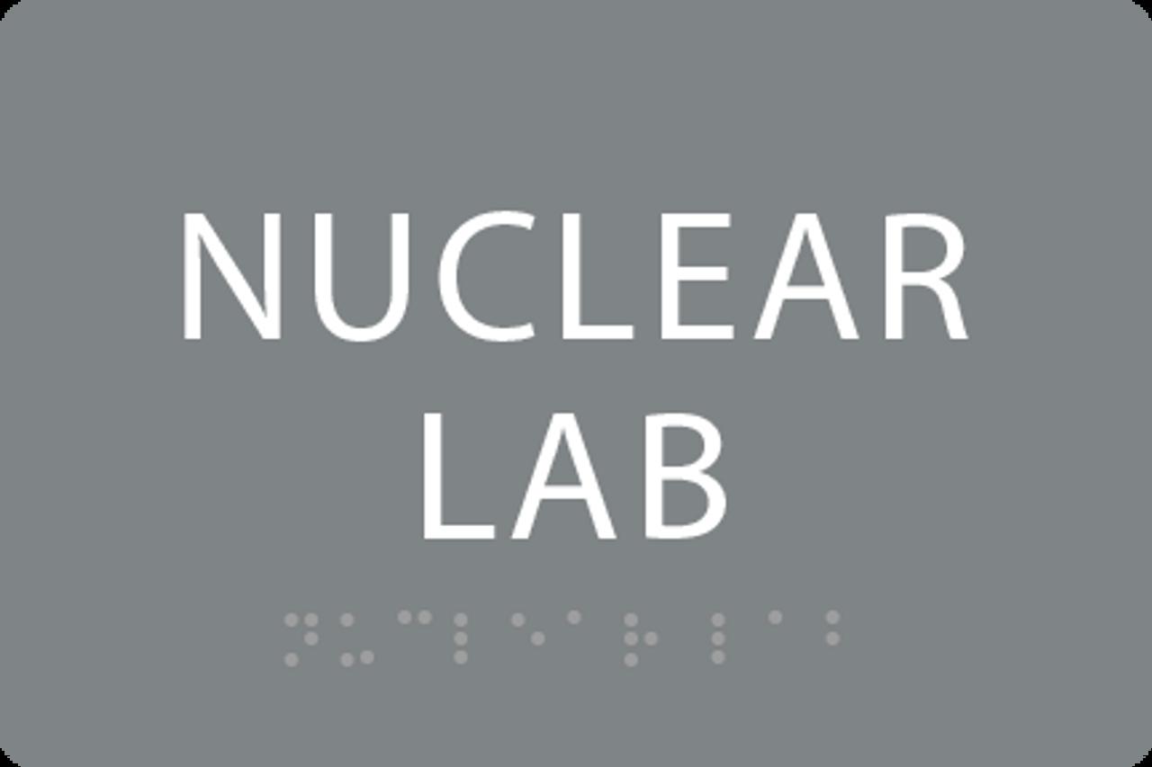 ADA Nuclear Lab Sign