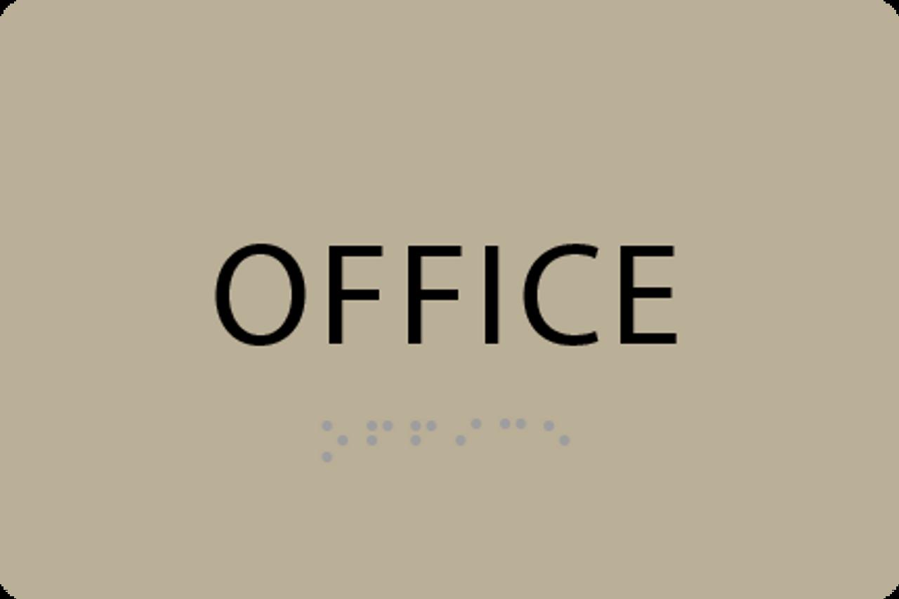 ADA Office Sign