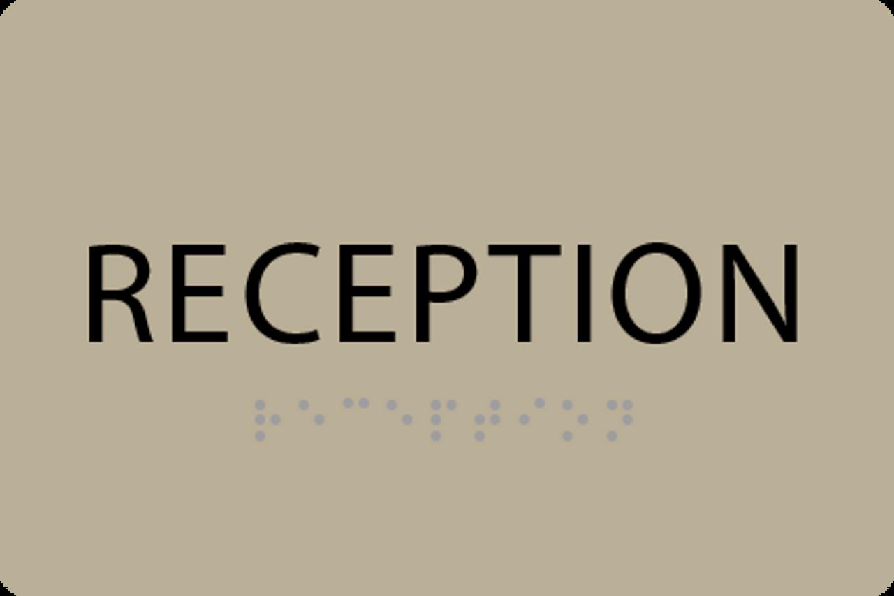 ADA Reception Sign