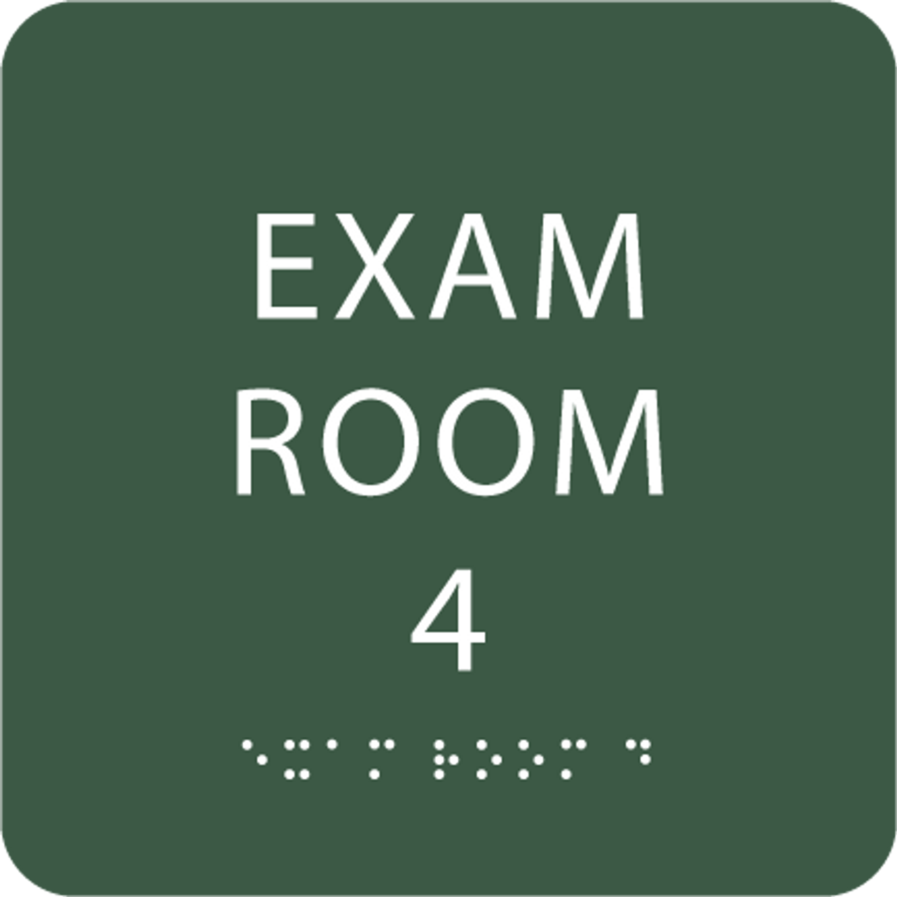 Spruce Exam Room 4 ADA Sign