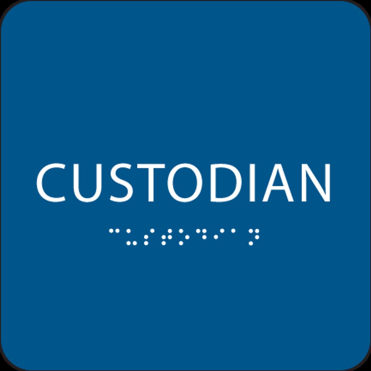 Royal Custodian ADA Sign