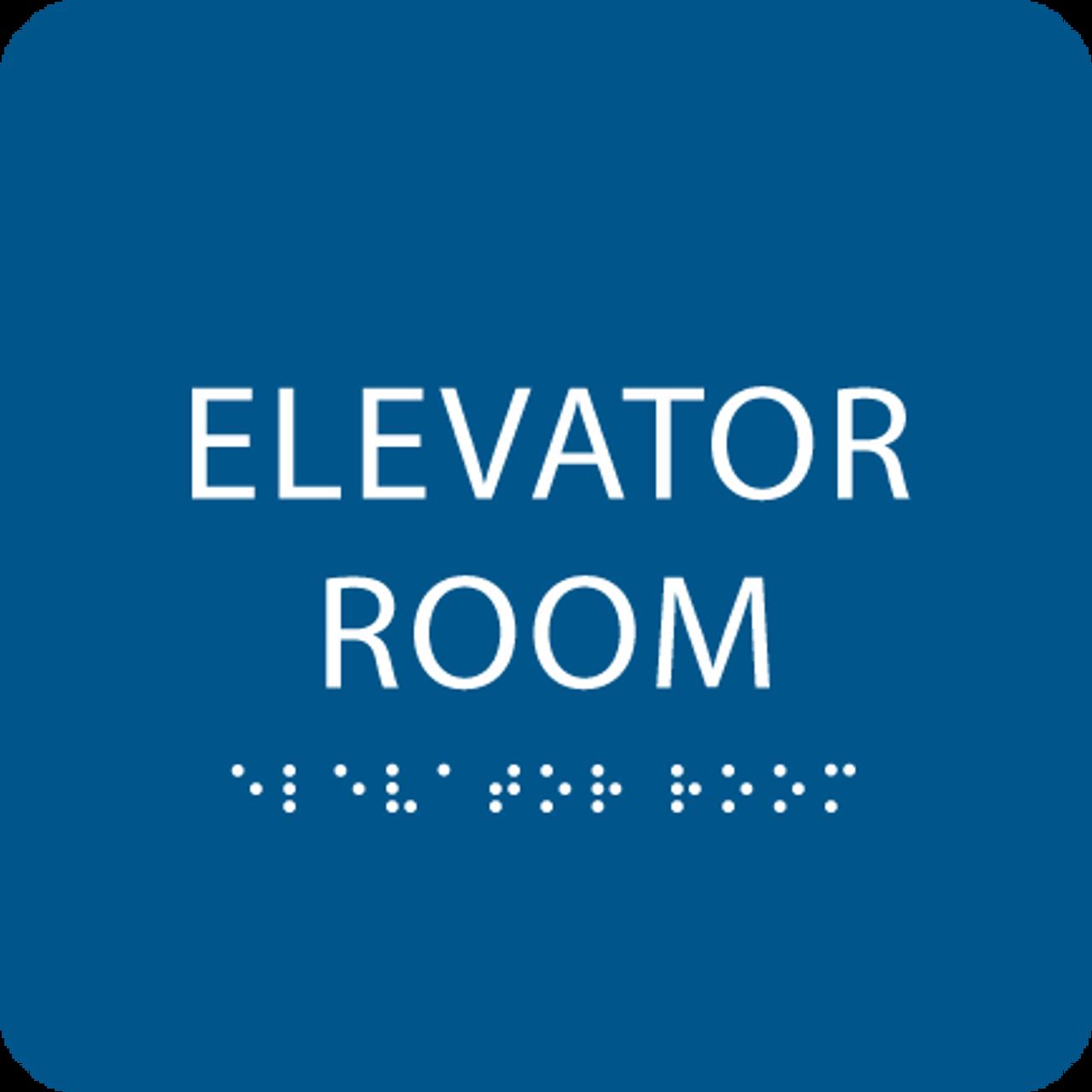 Royal  Elevator Room ADA Sign