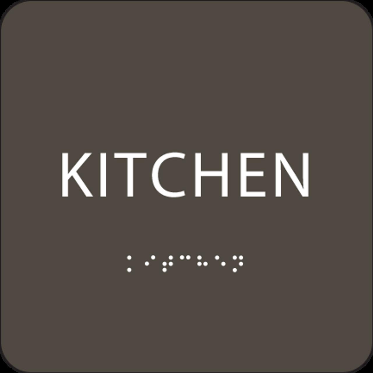 """Kitchen ADA Sign - 6"""" x 6"""""""