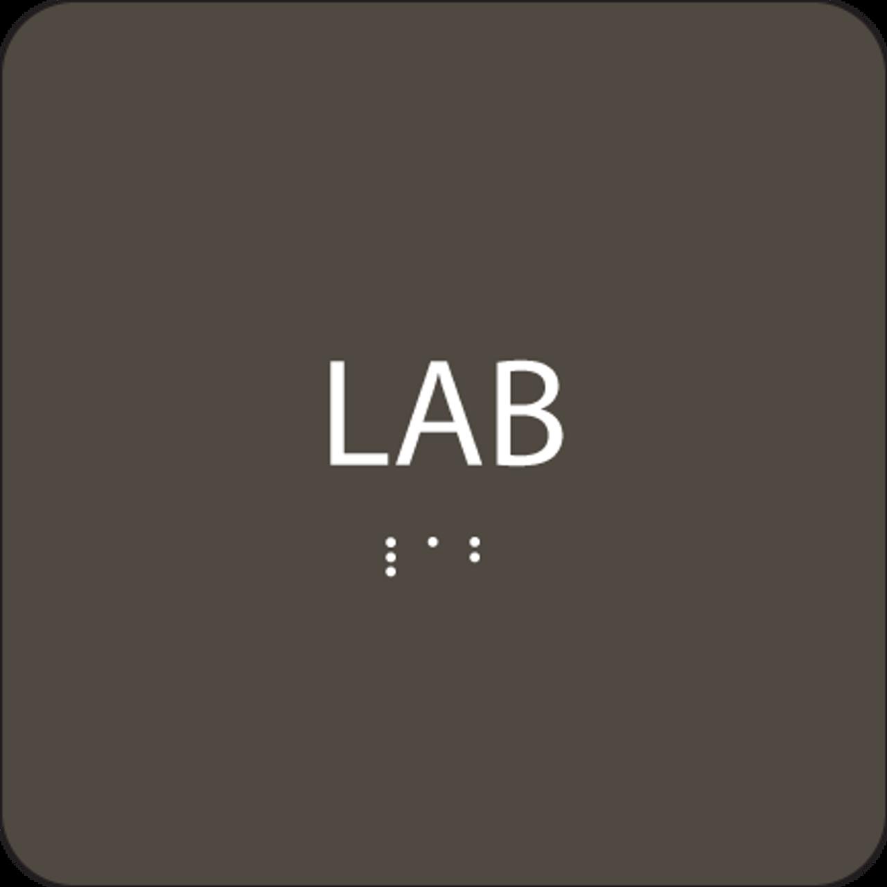 """Lab ADA Sign - 6"""" x 6"""""""