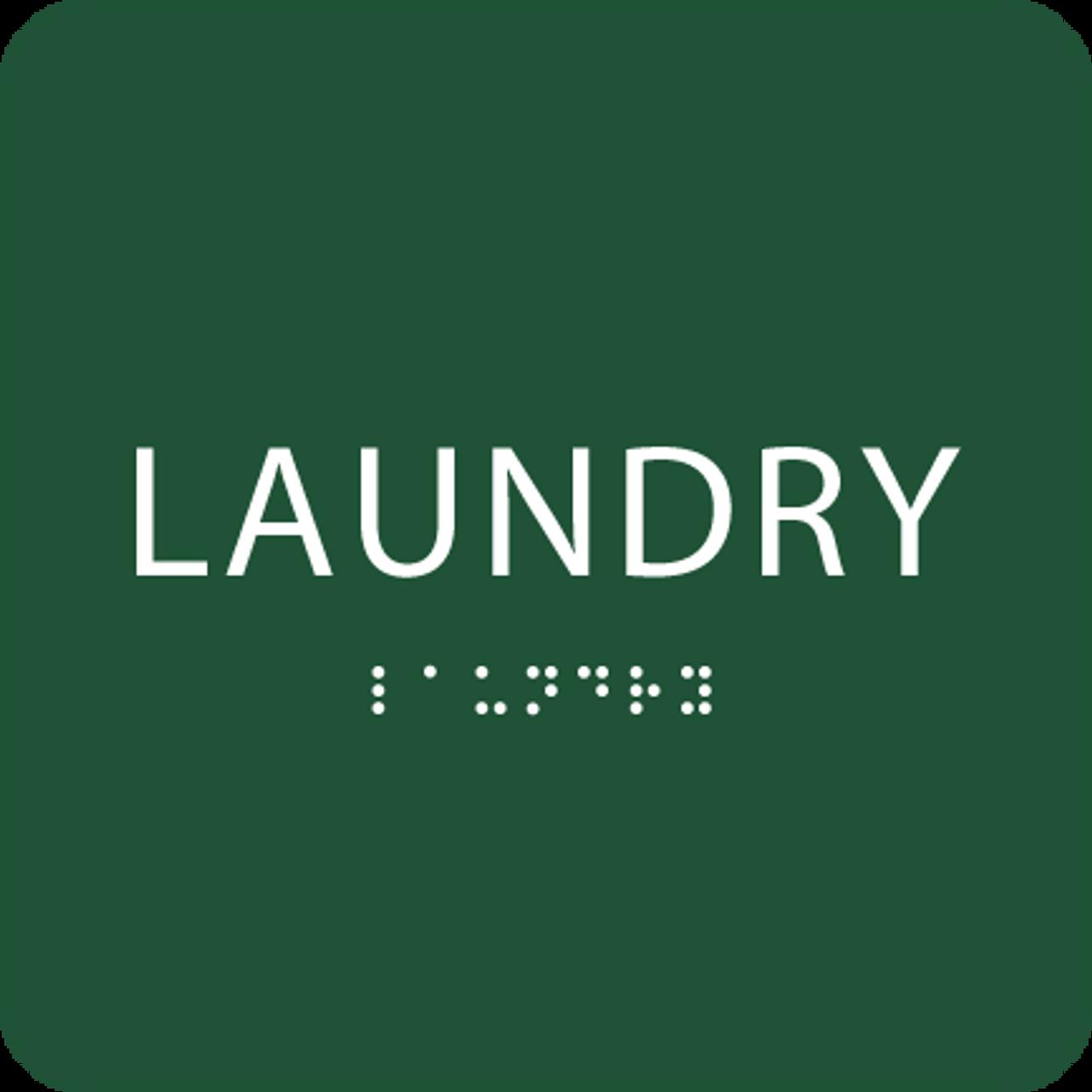 Green Laundry ADA Sign