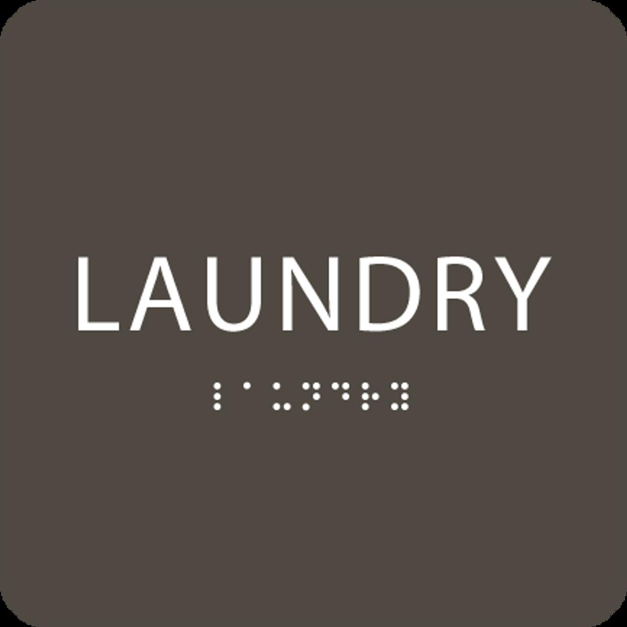 "Laundry ADA Sign - 6"" x 6"""