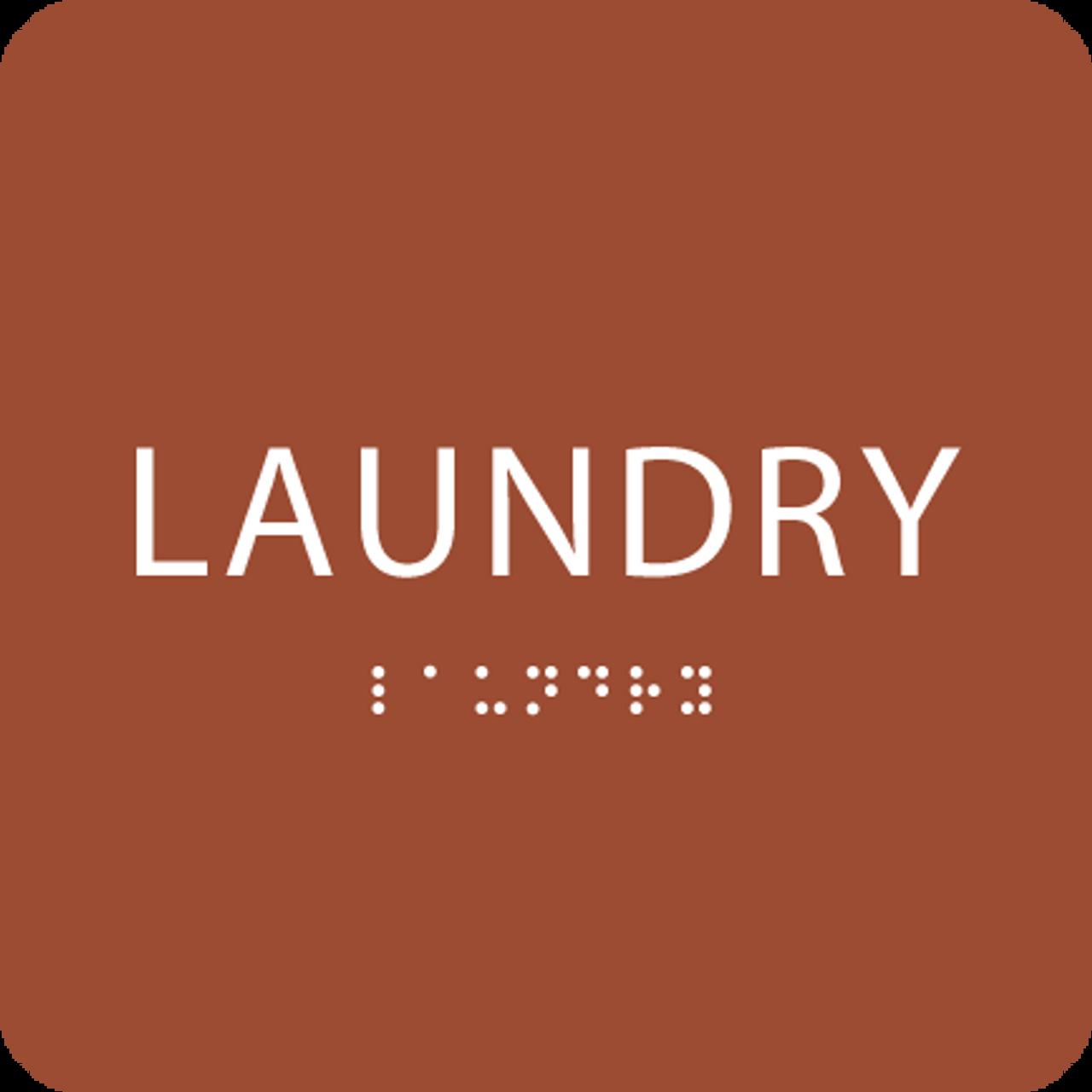 Orange Laundry ADA Sign