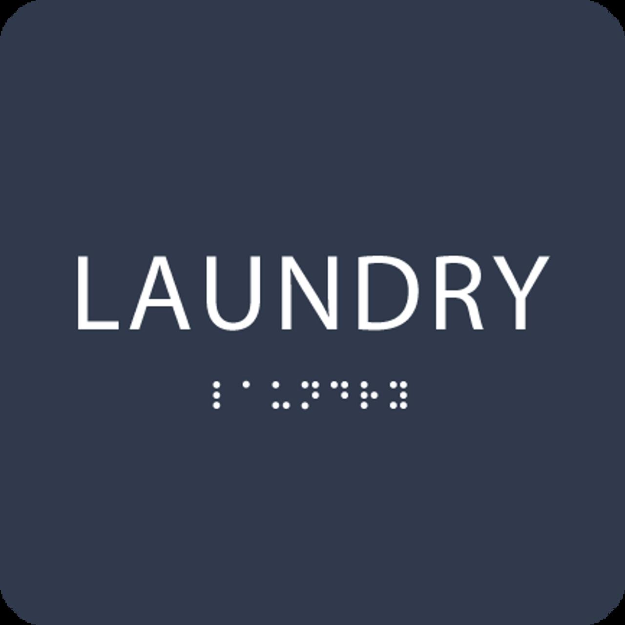 Navy Laundry ADA Sign