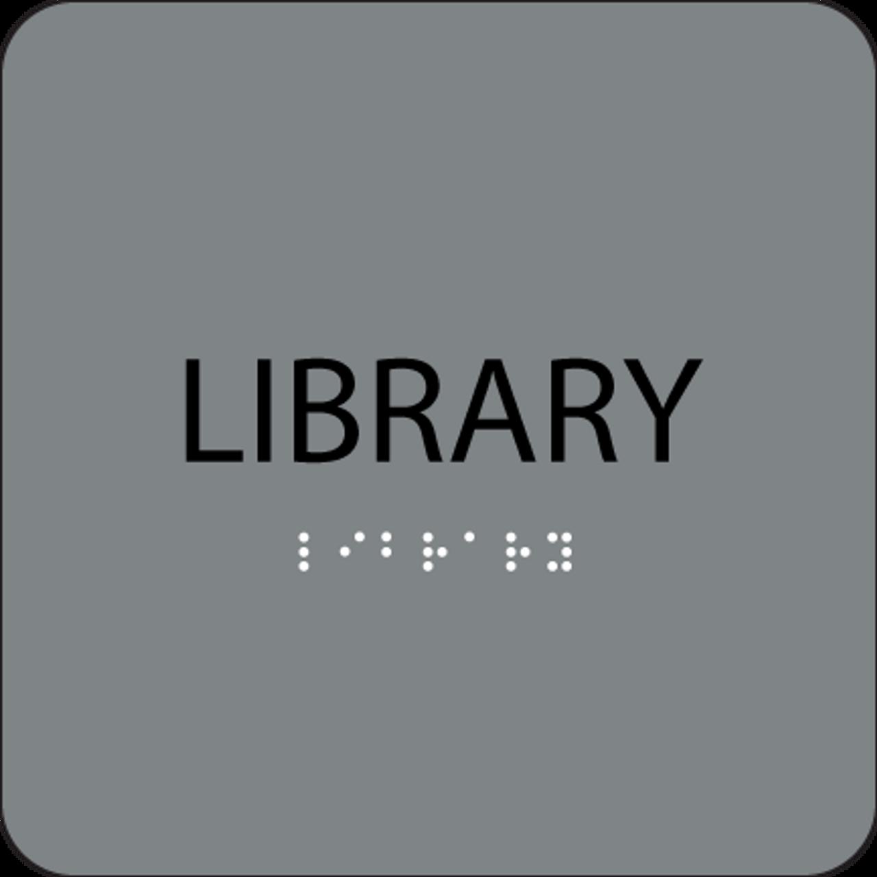 Grey Library ADA Sign