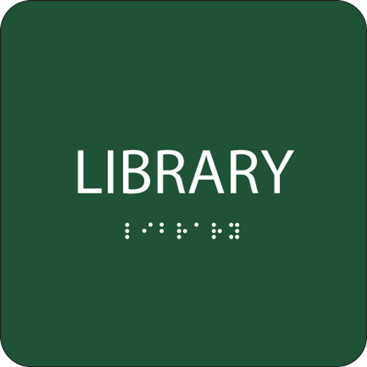 Green Library ADA Sign