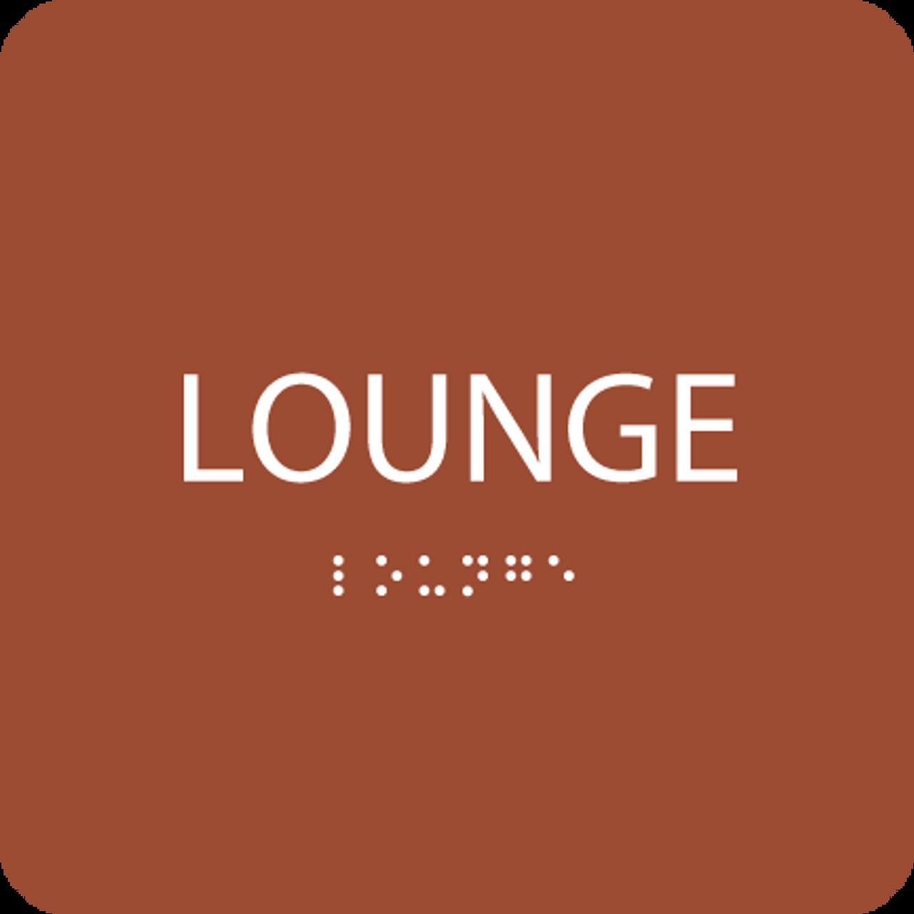 Orange Lounge ADA Sign