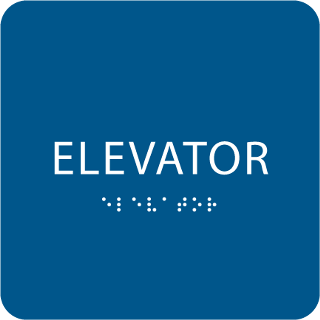 Royal ADA Elevator Sign