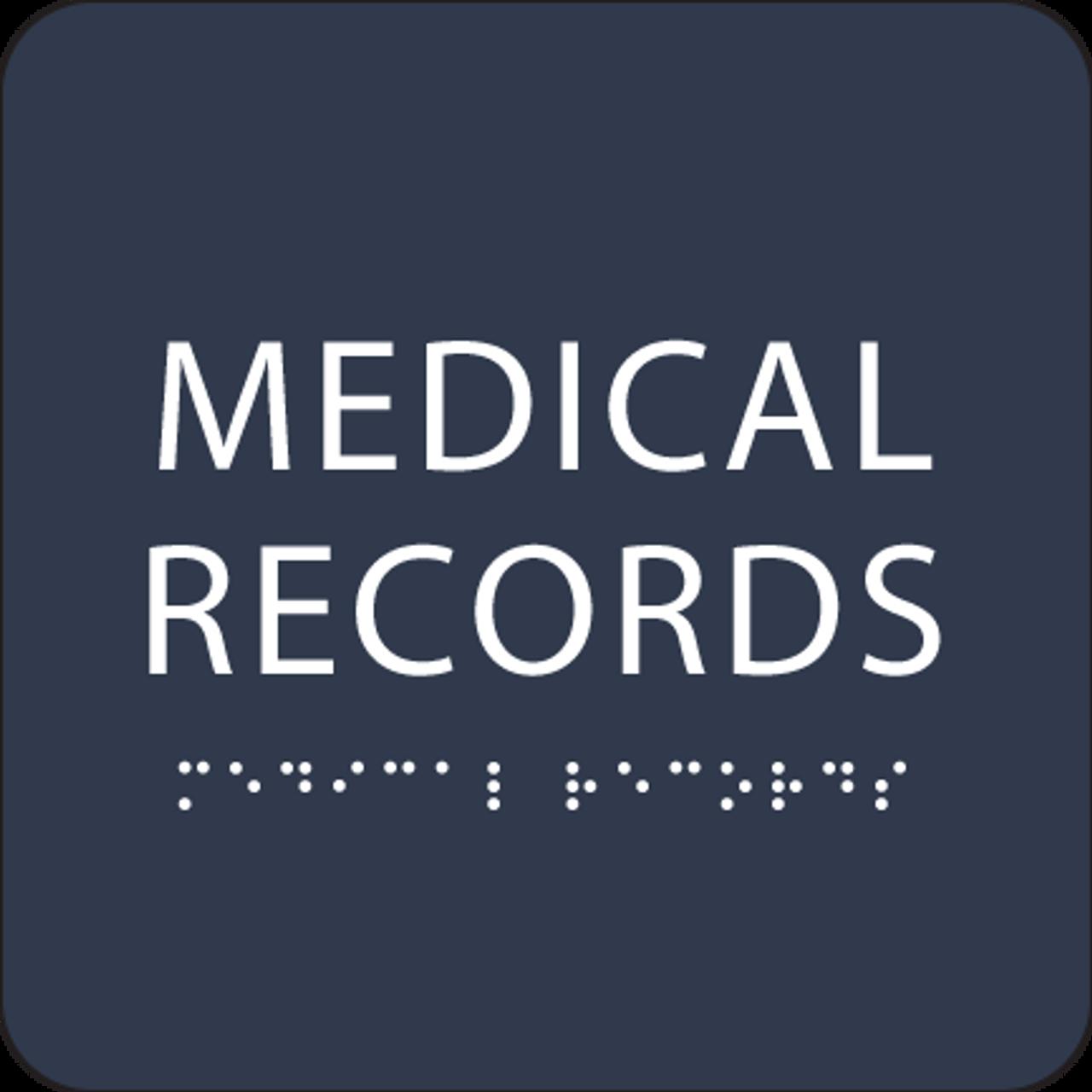 Navy Medical Records ADA Sign