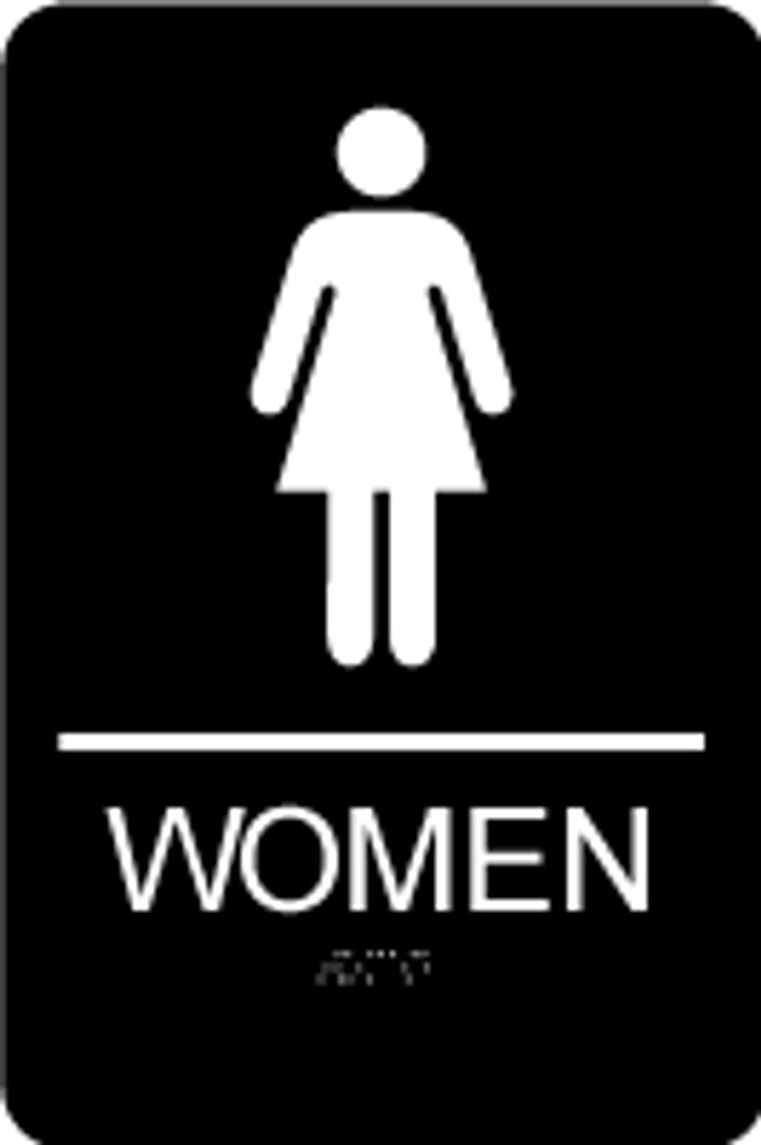 Women's ADA Restroom Sign