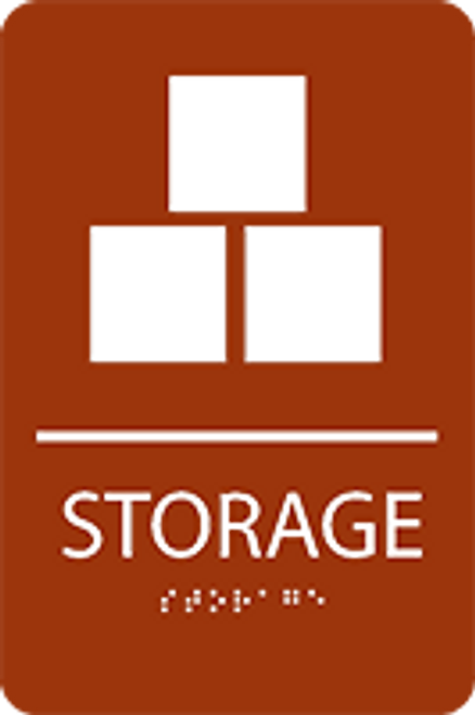 ADA Storage Sign
