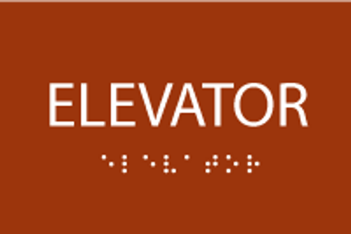 ADA Elevator Sign