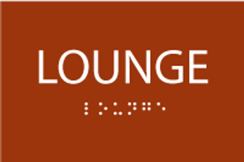 ADA Lounge Sign