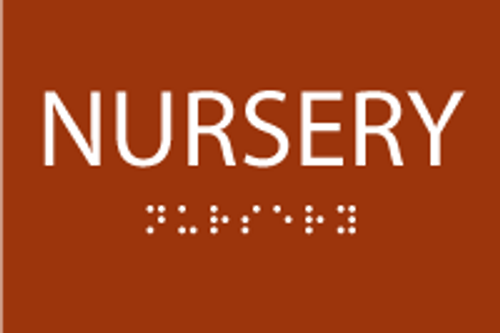 ADA Nursery Sign