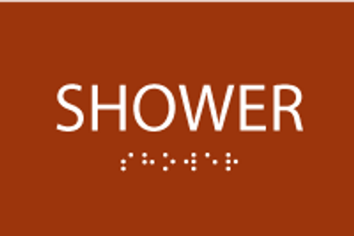 ADA Shower Sign