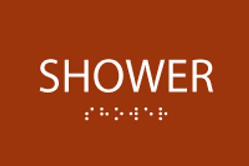 ADA Shower Sign