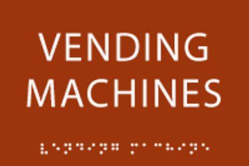 Vending Machines ADA Sign
