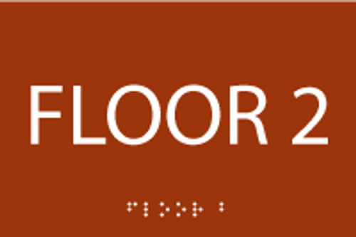 Floor 2 ADA Sign