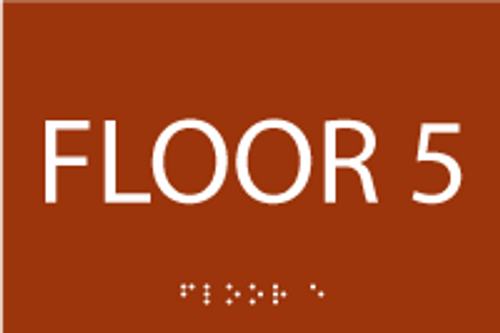 ADA Floor 5 Sign