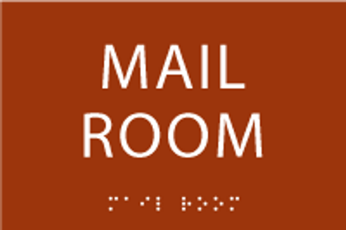 Mail Room ADA Sign