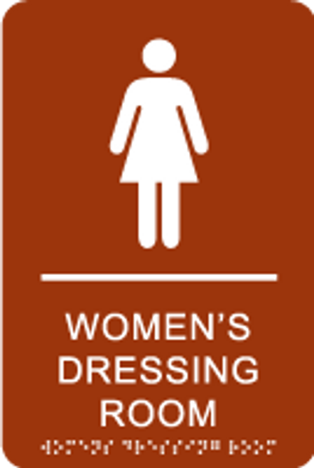 Women's Dressing Room ADA Sign