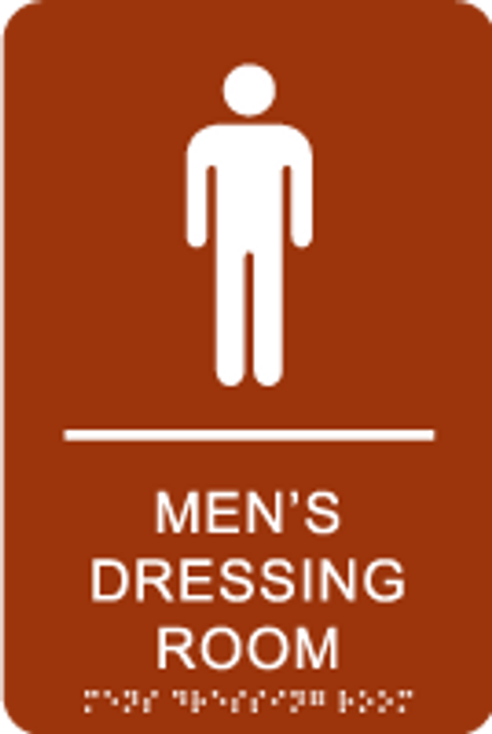 Men's Dressing Room ADA Sign