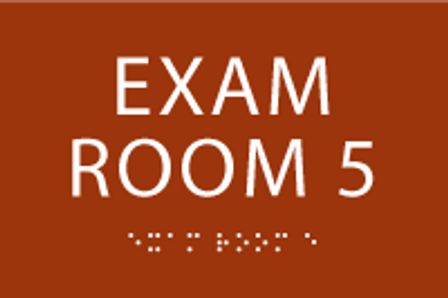 Exam Room 5 ADA Sign