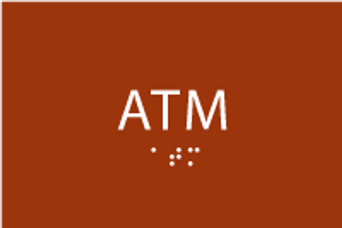 ADA ATM Sign