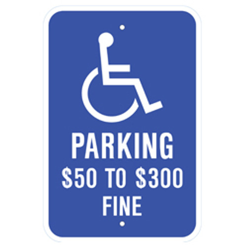 Missouri Handicap Parking Sign