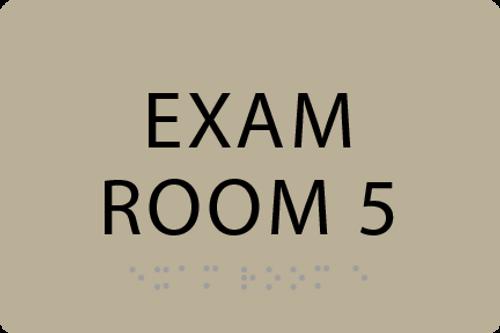 ADA Exam Room 5 Sign