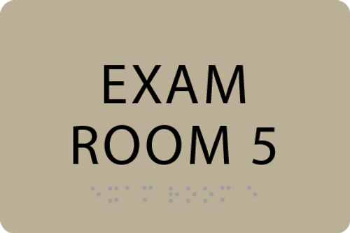 ADA Exam Room 5 Sign