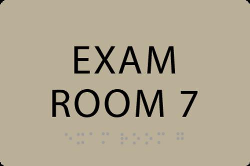 ADA Exam Room 7 Sign