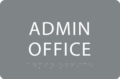 ADA Admin Office Sign