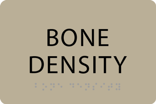 ADA Bone Density Sign