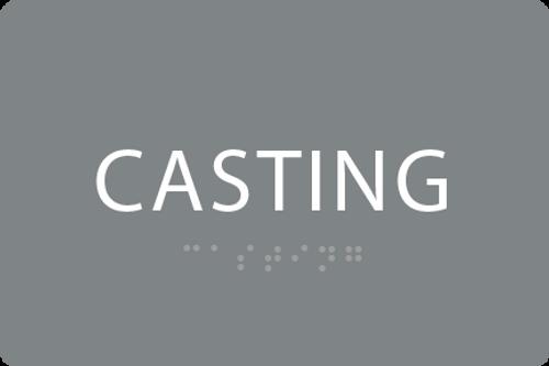 ADA Casting Sign