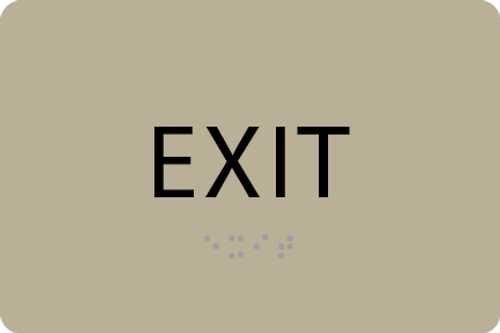 ADA Exit Sign - PSG