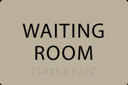 ADA Waiting Room Sign