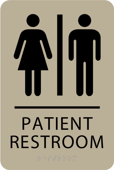 ADA Patient Restroom Sign