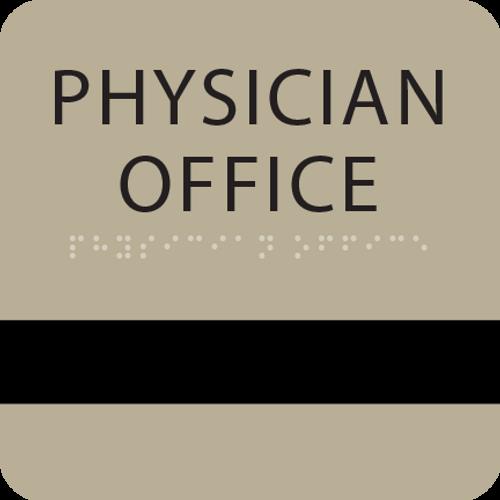 "ADA 6"" x 6"" Physician Office Window Sign"
