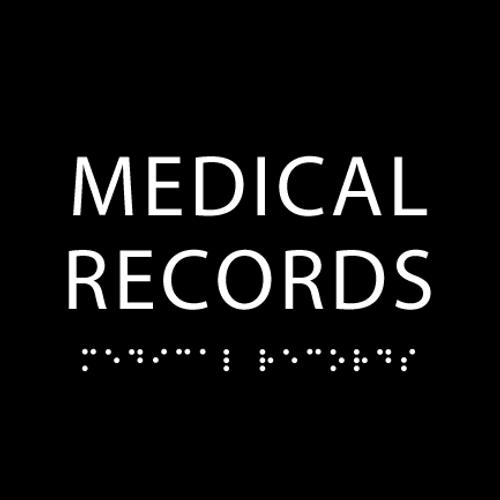 Black Medical Records ADA Sign