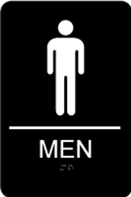 ADA Men's Restroom Sign