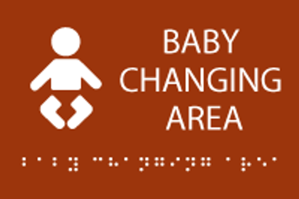 Baby Changing Area ADA Sign
